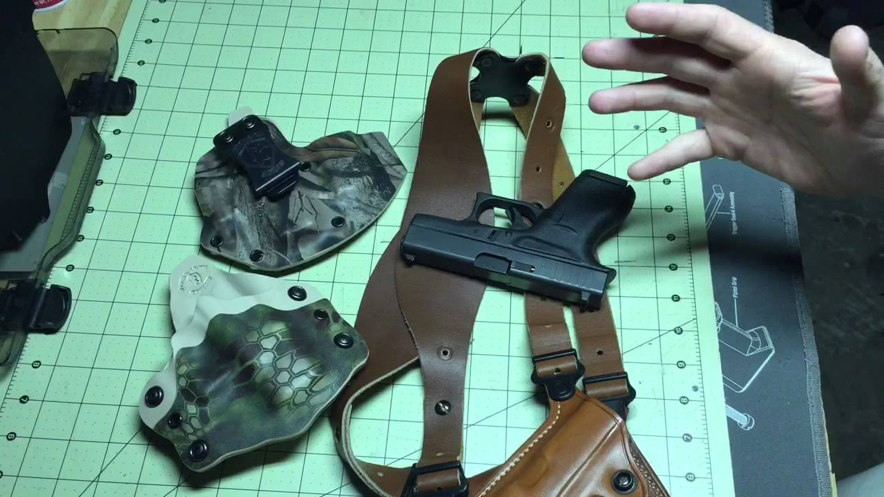 Glock 42 Shoulder Holster Galco Miami Classic