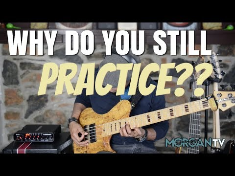 WHY DO YOU STILL PRACTICE?? - JERMAINE MORGAN TV
