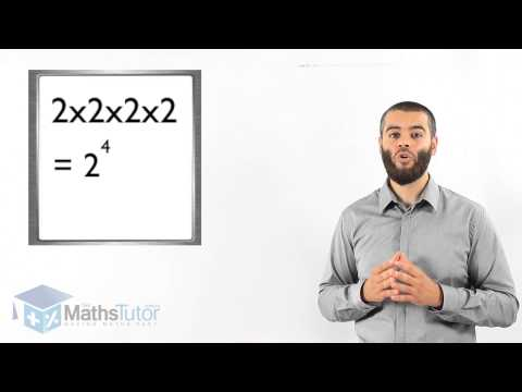 Maths Online - Introducing Indices