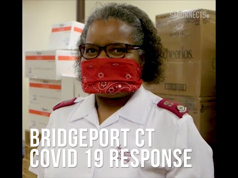 The Salvation Army Of Bridgeport CT COVID19 Food Hub Distribution
