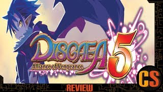 DISGAEA 5 - PS4 REVIEW (Video Game Video Review)