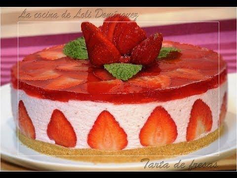 La receta de la tarta de fresas que ya han visto 2 millones de personas en YouTube