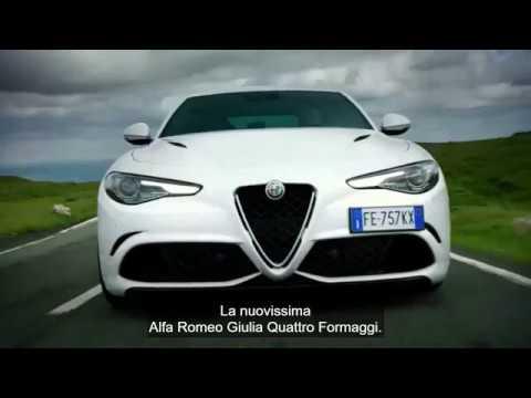 Alfa Romeo Giulia >> The Grand Tour Alfa Romeo Giulia... quattro formaggio ...