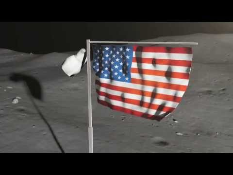 The truth about Mankind's Moonshots - the flapping flags!