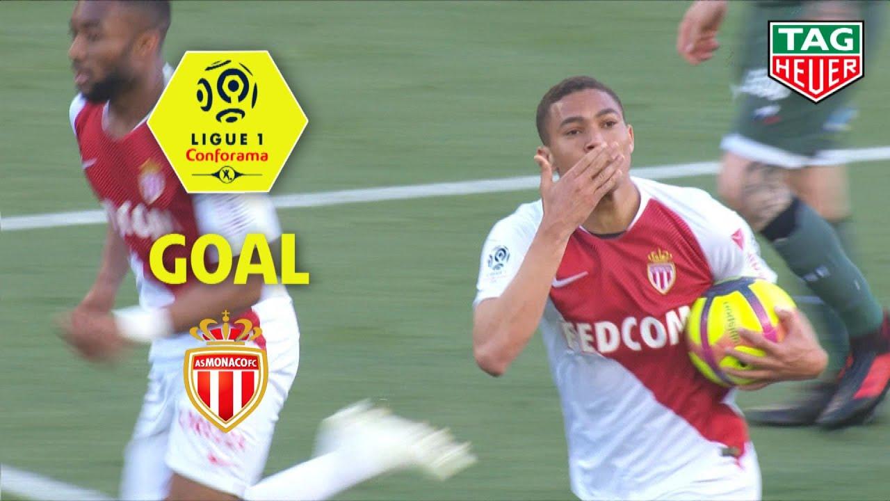 Goal Carlos Vinicius 90 2 As Monaco As Saint Etienne 2 3 Asm Asse 2018 19 Youtube