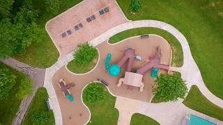 DJI Spark - Playground footage