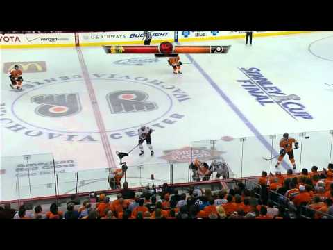 Stanley Cup Finals. Flyers vs Blackhawks (Game 3, 02 june 2010)