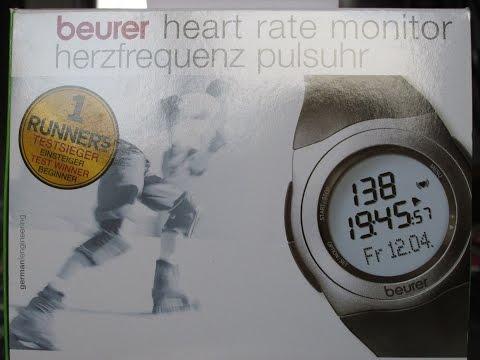 Пульсометр beurer PM 25 Обзор распаковки