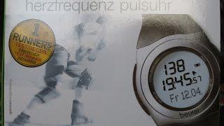 Пульсометр beurer PM 25 Огляд розпакування