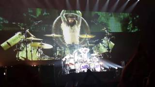 "Black Sabbath - ""Rat Salad"" WITH FULL drum solo AND ""Iron Man"" - Mohegan Sun Arena - August 27, 2016"
