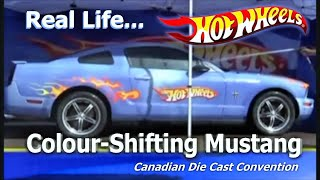 Hot Wheels Color Shifter Mustang Canada