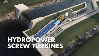 Archmimedean Screw Turbines: How it works