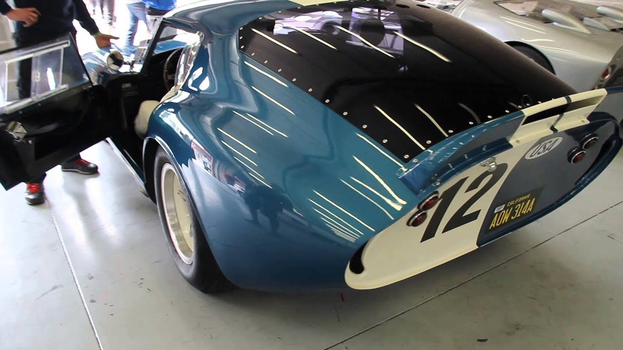 Legendary American Racecars Shelby Cobra Daytone Coupe And Ford Gt Mkii Modena Trackdays