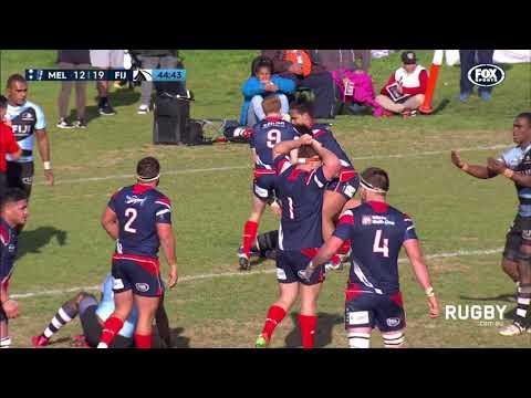 NRC 2017 round two: Melbourne Rising v Fiji Drua