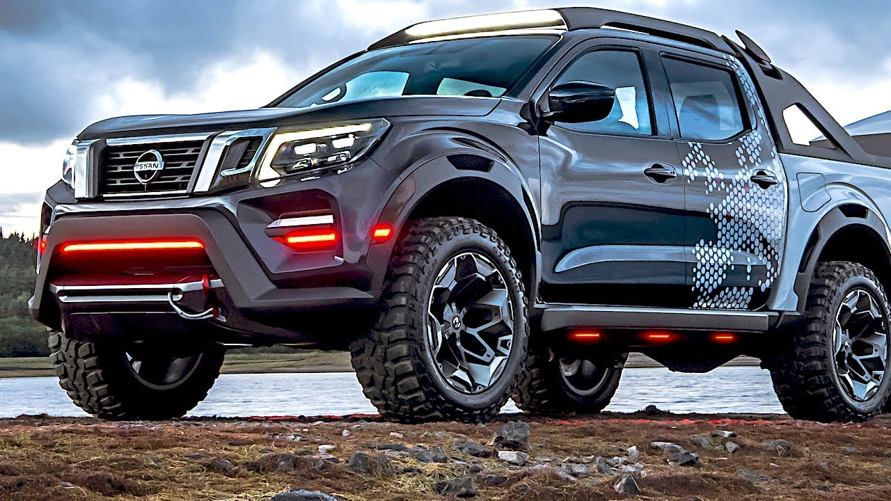 2019 nissan navara dark sky space hunter world premiere. Black Bedroom Furniture Sets. Home Design Ideas