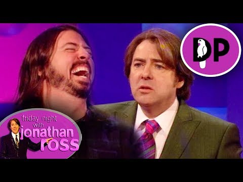 Dave Grohl Talks About Nirvana's Antics On Jonathan Ross In '91 | Friday Night With Jonathan Ross