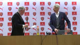 John Cross pays tribute as Arsene Wenger bids farewell to Arsenal