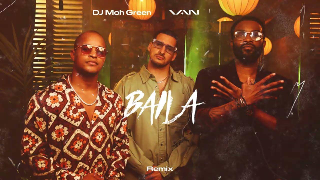 VAN - Baila (Remix) [feat. DJ Moh Green] [Visualizer]