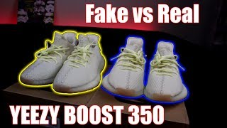 Real vs Fake Yeezy Butter Comparison