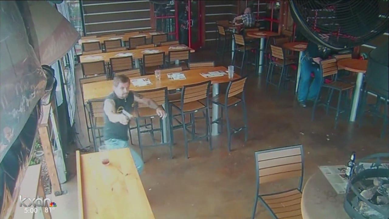 Surveillance video of Twin Peaks shooting released