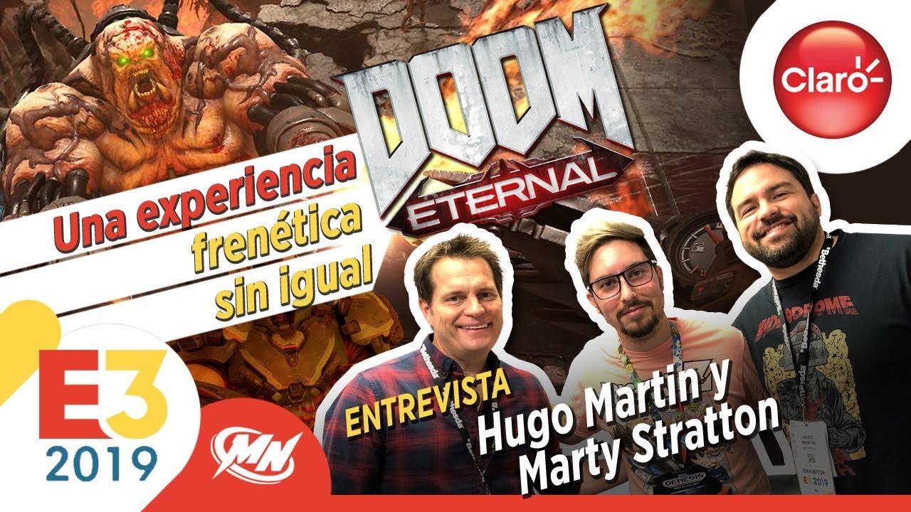 Entrevistas E3 2019 Doom Eternal Hugo Martin Y Marty Stratton