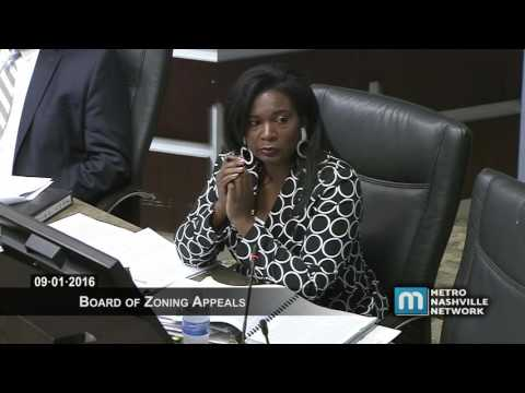 09/01/16 Zoning Appeals Board Meeting, Part Two