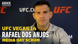 UFC Vegas 14: Title More Important To Rafael Dos Anjos Than Conor McGregor Rematch - MMA Fighting