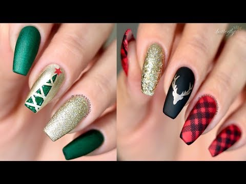 The Best Nail Art Designs Compilation December ♛ 2018 ♛ | Christmas Nail Art Ideas by Butterfly
