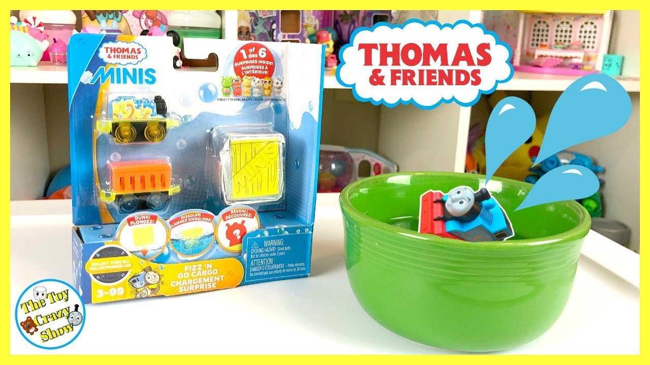 Thomas And Friends Mini Set! Fizz N'Go Cargo! The Toy Crazy Show