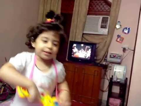 Anaya is a Lil Indian Idol - Singing