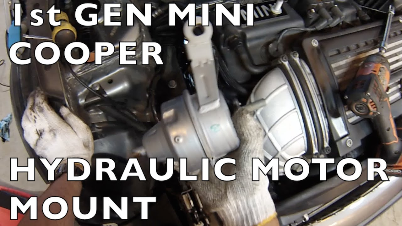 Mini Cooper Hydraulic Motor Mount Replacement R50 R53