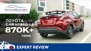 Toyota C-HR Hybrid Detailed Review: Price, Specs & Features | PakWheels -