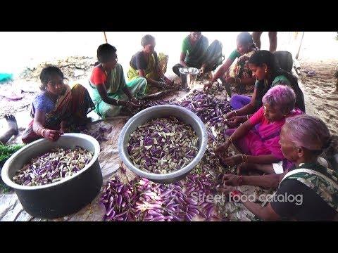 amazing-cooking-brinjal-curry-recipe-prepared-1000-people-hindu-function-street-food-catalog