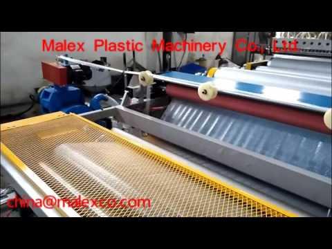 air bubble wrap making machine, bubble film machine, china@malexco.com,