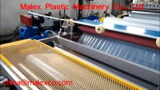 air bubble wrap making machine, bubble film machine, china@malexco.com, Video