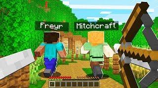 Pranking As A Skeleton In Minecraft Minecraft Trolling Video