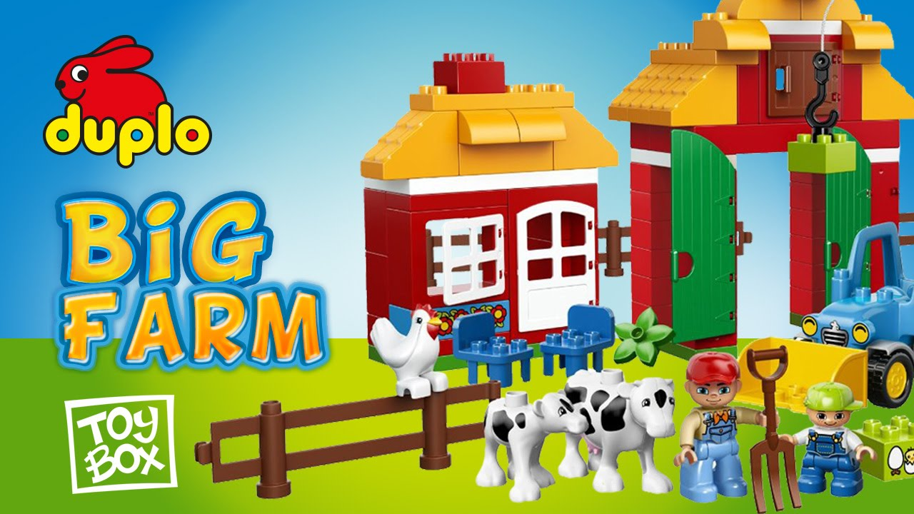 Duplo Lego Ville 10525 Big Farm La Gran Granja Youtube