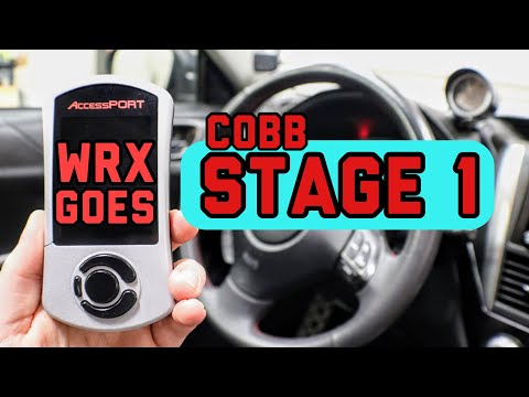 Subaru WRX Cobb Stage 1 Install | AccessPort how to tutorial | 2008 2009 2010 2011 2012 2013 2014