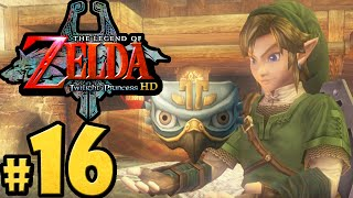 The Legend of Zelda Twilight Princess HD Gameplay Walkthrough PART 16 Bombs & Bridges Nintendo Wii U