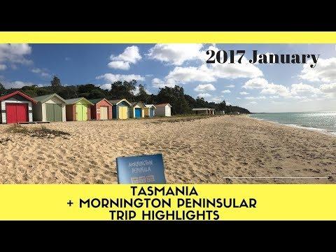 2017 Trip Highlights - Tasmania + Mornington Peninsular