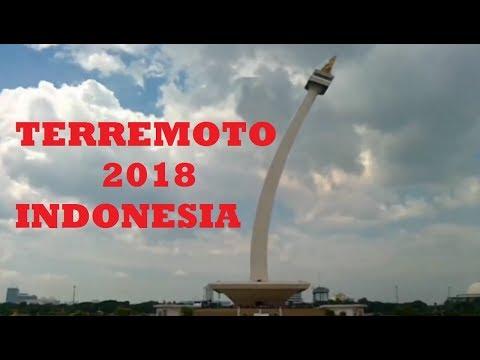 El preciso momento que Terremoto remece a Indonesia | Noticias Mundo