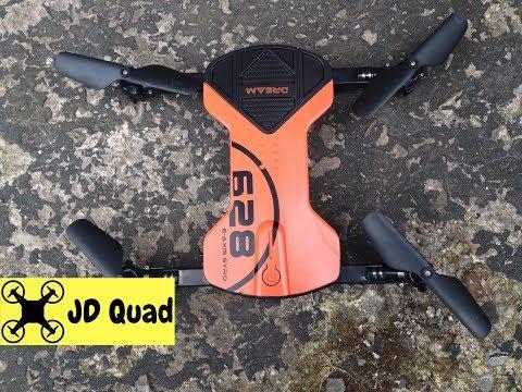 Kingtoys HC628 Dreamfly Quadcopter Drone Flight Test Review