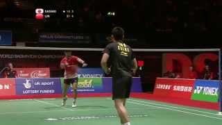 Beautiful points and powerful smashes BWF WORLD CHAMPIONSHIP 2011 (Quarter-finals)