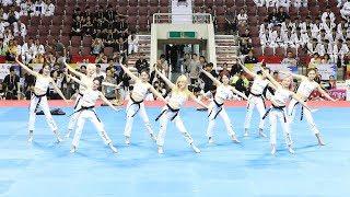 170731 K-Girls 태권체조(Taekwon Aerobic) (라붐 율희, 모모랜드 주이, 박기량 등) [세계태권도한마당] 4K 직캠 by 비몽