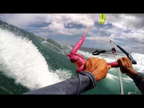 Strapless kitesurfing - Oneye Mauritius 2016