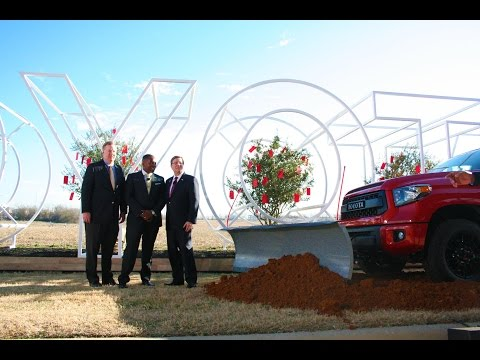 Toyota Groundbreaking in Plano