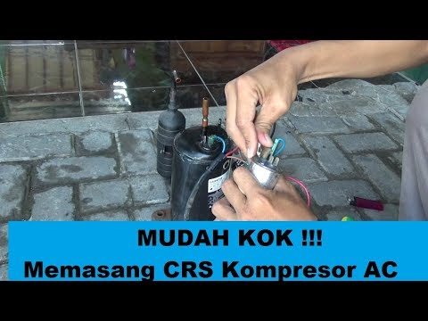 Memasang CRS Pada Kompresor AC #id Know