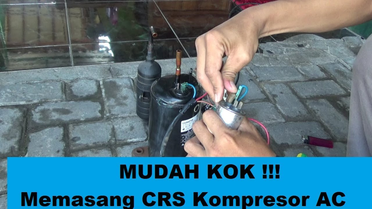 Wiring Diagram Kompresor Ac