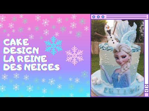 le-meilleur-cake-design-la-reine-des-neiges-❄