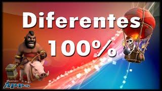 Diferentes 100% - Mundo Clash of Clans #257